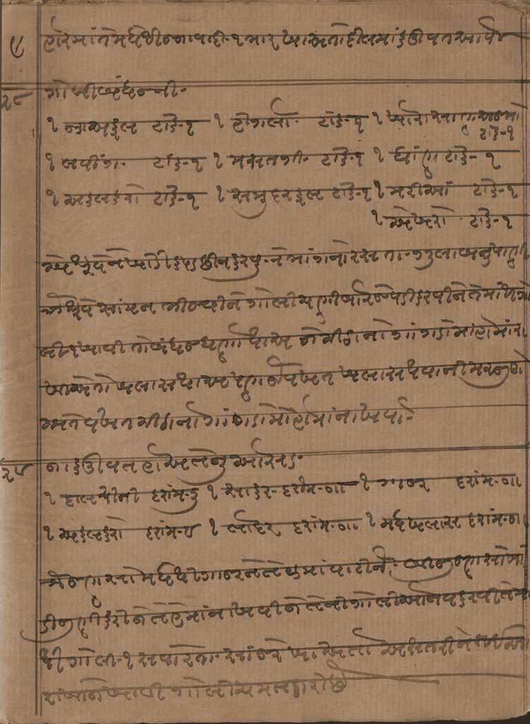 Original Manuscripts of Ayurvedic Vaidya